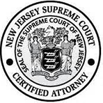 New Jersey Supreme court | Certified attorney | Seal Of the Supreme court of new Jersey